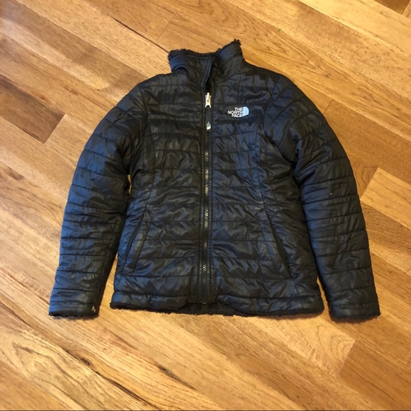 ecf072493 The North Face Mossbud Swirl Reversible Jacket